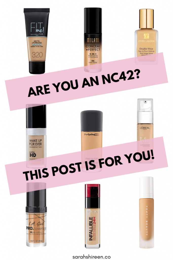 mac nc42 foundation dupe