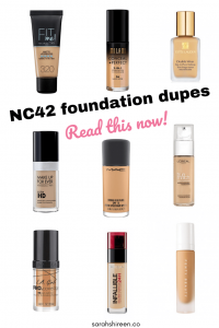 nc42 foundation dupe